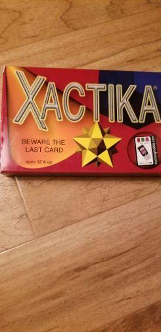 Xactika card game