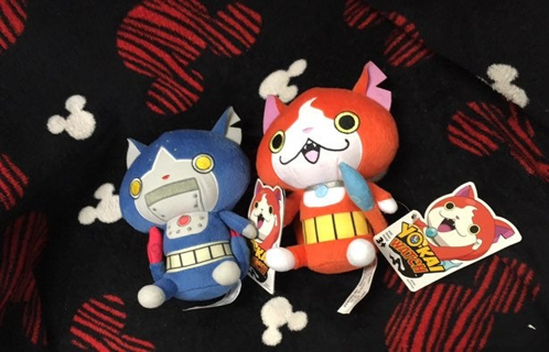 NEW YOKAI WATCH TOYS ANIME PLUSH DOLLS