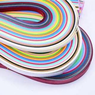 260 Stripes Quilling Paper 5mm Origami Paper Craft DIY Paper Art Mixed Color