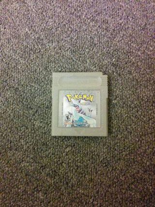 Pokemon silver WARNING battery doesn't work