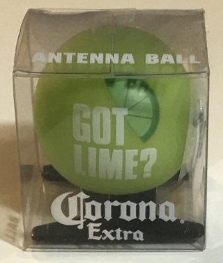 Corona Extra Green Antenna Ball Topper Car Accessory (Beer Advertising) - New In Package!
