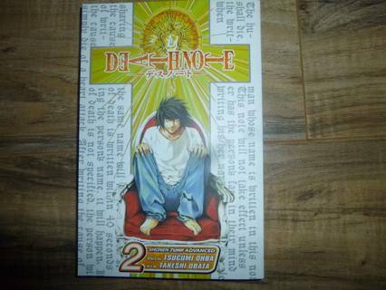 Death Note Volume 2 Manga