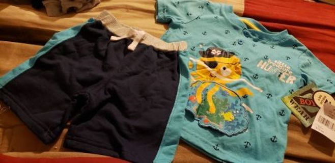 NWT 18mo boys outfit