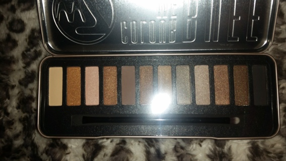 FREE NEW W7 COLOR ME BUFF: NATURAL NUDES EYE SHADOW COLOR PALETTE - 12 COLORS