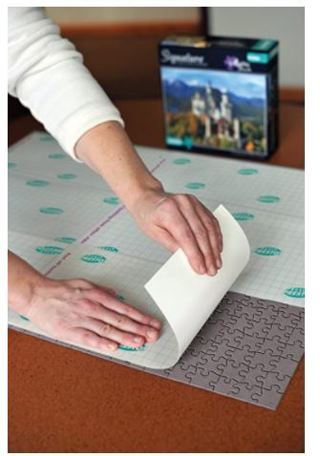 Puzzle Presto! Peel & Stick Puzzle Saver: The Original  Best Way to Preserve Your Finished Puzzle