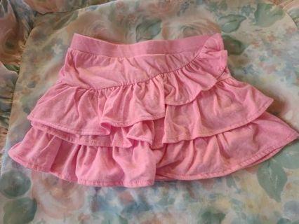 Girl's Pink Skort
