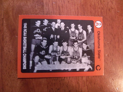 OSU NCAA Basketball Champions Trading Card