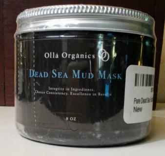 New Olla Organics Dead Sea Mudd Mask