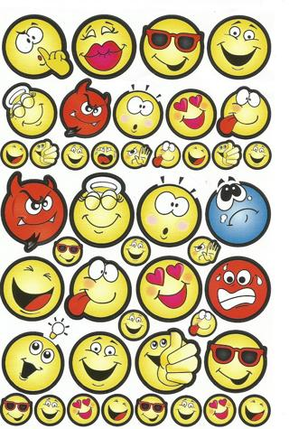 : ) ?¿ Smiley Emoji Stickers - New ¿?: (