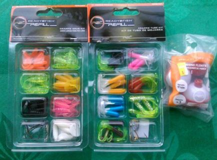 New Sealed 79 Piece Pan Crappie Fishing Kit Free Shipping Christmas Gift?