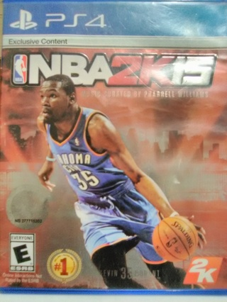 NBA2K15 for the PS4