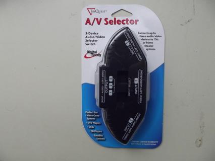 A/V Selector - Digital Compatible