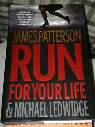 Run for your Life- By James Patterson