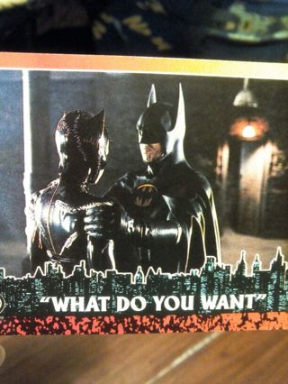 Batman return cards #50 #75 #76