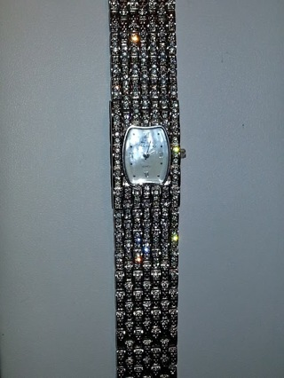 diamond auction bracelet free somers sparkly original watch watches suzanne