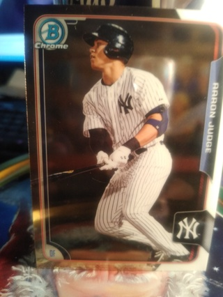 ROOKIE Aaron Judge Bowman Chrome RC Yankees