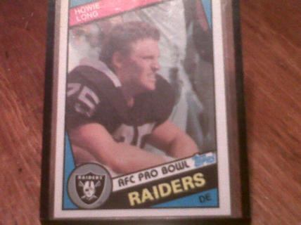1984 Howie Long Rookie Card