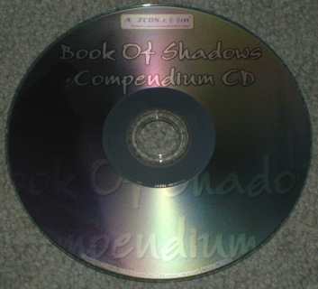 BOOK OF SHADOWS COMPENDIUM SPELLS WICCA CD