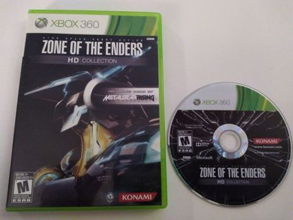 Zone Of The Enders HD Collection (Xbox 360, 2012) With Case playable on xbox one