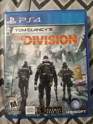 Used PS4 Tom Clancy's The Division