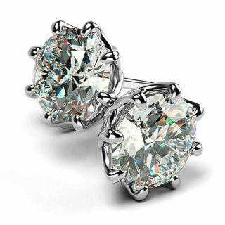 ✿Fast & Free Shipping✿ Fashion Stud Earring Women 925 Silver x1Pair