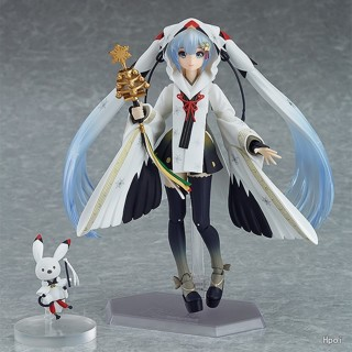 NEW hot 15cm Hatsune Miku Crowned Crane Witch movable action figure toys collector Christmas,