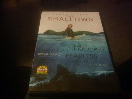 DVD- THE SALLOWS w BLAKE LIVELY