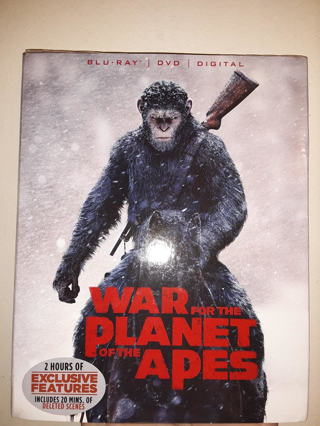 NEW War For The Planet Of The APES BLU-RAY + DVD + DIGITAL