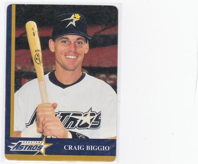 Free 1998 Mothers Cookies Houston Astros Craig Biggio