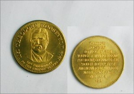 Theodore Roosevelt Coin