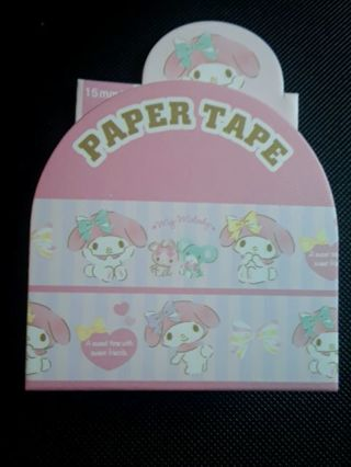 """Sanrio '2019'~""""My Melody"""" Washi Tape/Paper Tape *Only One, Available!!* ☆Kawaii Bonus☆"""