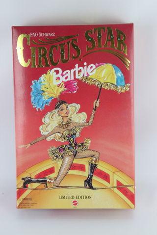 Vintage Mattel FAO Schwartz Ltd Edition Circus Star Barbie Ann Driscoll Doll