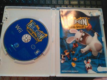 Rayman Raving Rabbids Wii game