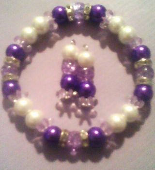 ALL YOU PURPLE LADIES! FITS SMALL TO MOST PLUS SIZE WRISTS! GORGEOUS!