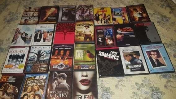 25+ DVDs Cujo Hauntings 50 Shades Grey