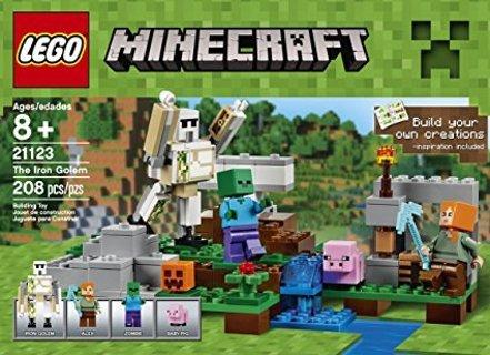 LEGO Minecraft The Iron Golem 21123 SET NEW KIDS BUILDING TOY CHRISTMAS BIRTHDAY GIFT FAST FREE SHIP