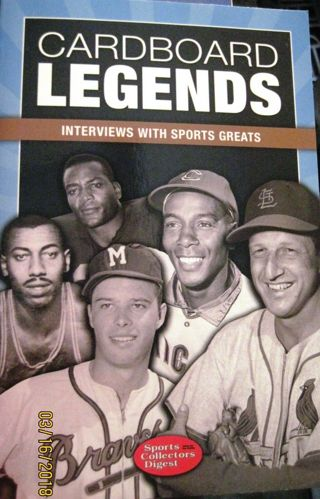Cardboard Legends : Interviews with Sports Greats