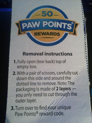 50 Paw Points Code