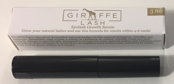 (2) Giraffe Lash Eyelash Growth Serum 3ml - Brand New!