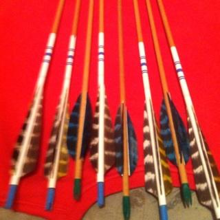 Wood shaft Arrows