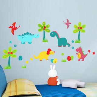 Animals Dinosaur Wall Decal Sticker Home Decals Vinyl Art Kids Baby Nursery Room