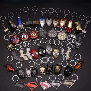 [GIN FOR FREE SHIPPING] Marvel The Avengers Keychain