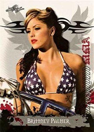2010 Leaf MMA #81 Brittney Palmer (Mixed Martial Arts) UFC MMA Card NM-MT