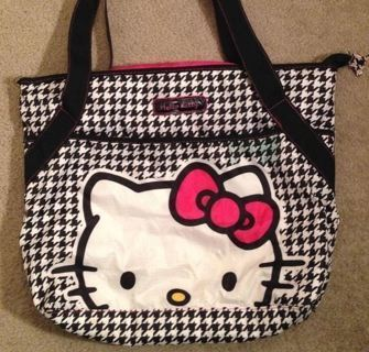 1 Hello Kitty Bag Sanrio Shoulder Bag Tote FREE SHIPPING
