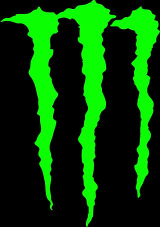 Free Monster Sticker M Logo Monster Energy Drink Official