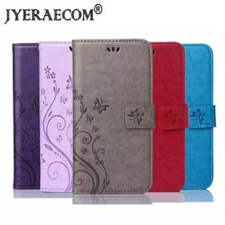 JYERAECOM Flip PU Leather + Wallet Cover For Huawei P7 P8 P8lite  P9 lite 2017 P10 lite P20 pro P