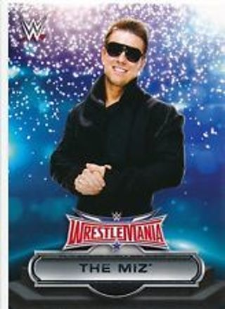 """The Miz Special """"Superstar"""" 2016 WWE Road to Wrestlemania Card # 17 of 30"""