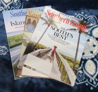 4 Southern Living Magazines