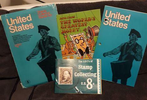 Vintage Starter Stamp Collection.