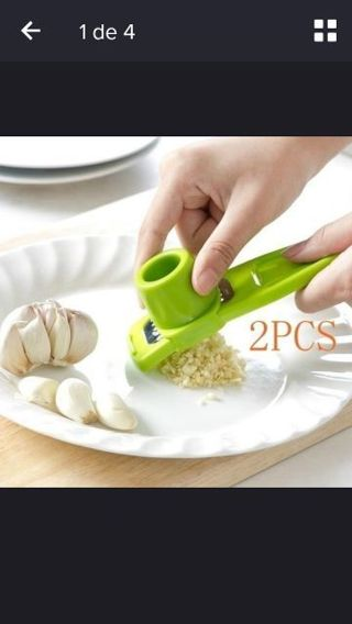 Grind garlic ginger device